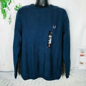 Chaps Ralph Lauren Cable Knit Sweater  Large